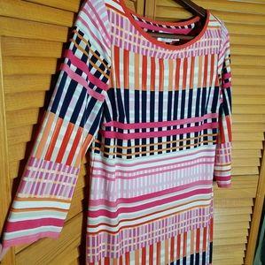 Eliza J Retro Midi Dress